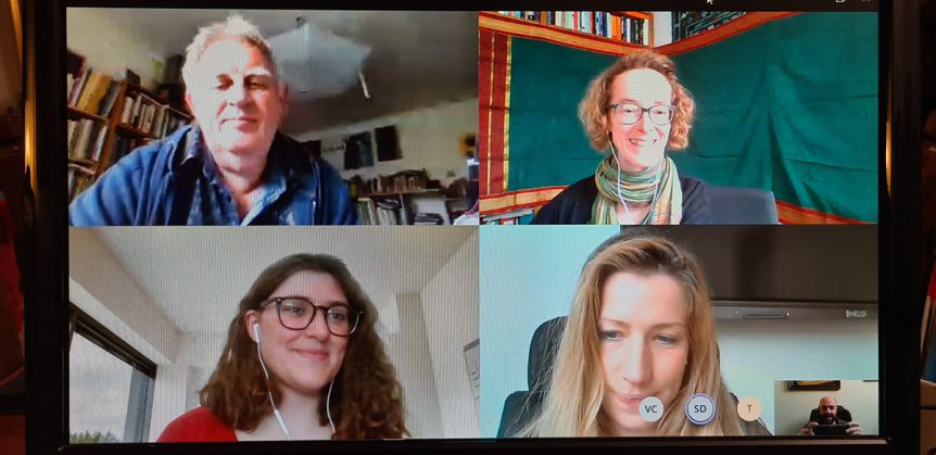 DivCap 4th online meeting picture